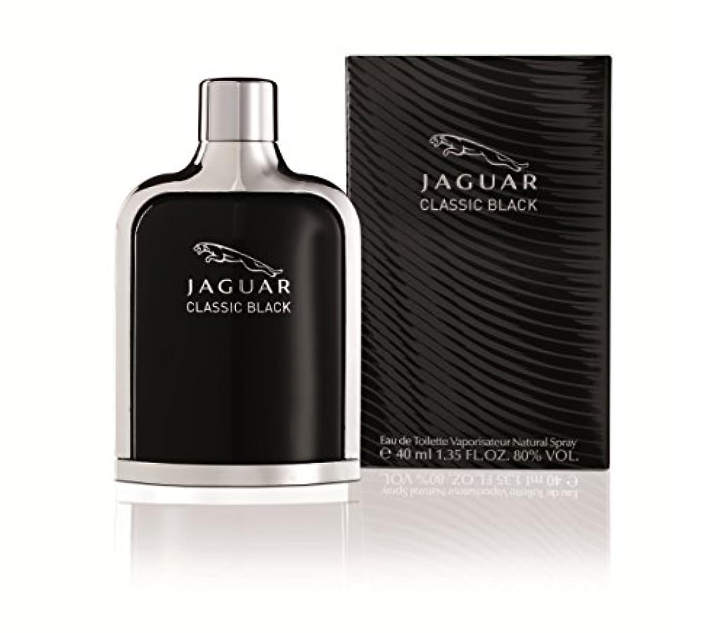 祝う借りる可愛いジャガー クラシック ブラック EDT SP 40ml