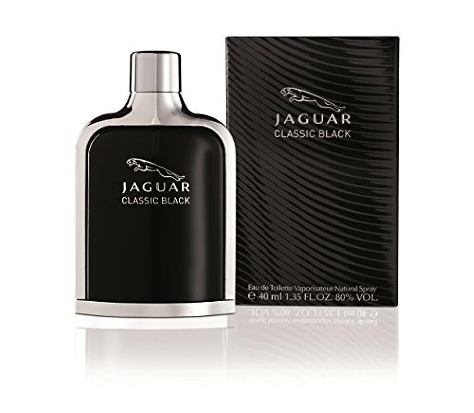 矢じり誇り反毒ジャガー クラシック ブラック EDT SP 40ml