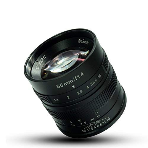7artisans マイクロカメラレンズ55ミリメートルF1.4大口径肖像マニュアルフォーカスソニーNEX-6R NEX-7 A3000 A5000 A5100 A6000 A6300 A6500印加 ソニー-Eマウントカメラ対応
