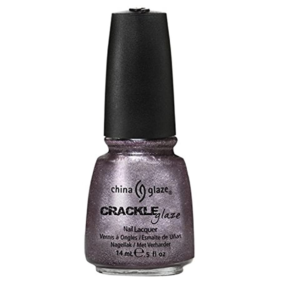 運営試験封建(6 Pack) CHINA GLAZE Crackle Metals - Latticed Lilac (並行輸入品)
