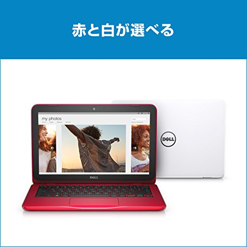 Dell ノートパソコン Inspiron 11 Celeronモデル ホワイト 17Q11W/Windows10/11.6インチ/2GB/32GB