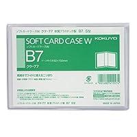 コクヨ クリアケース カードケース 軟質タイプ B7 クケ-77 Japan