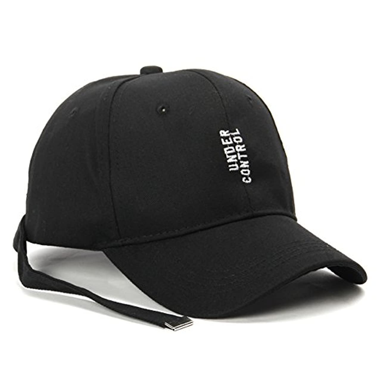 ギャンブル刈る接続されたユニセックスアルファベット刺繍野球帽子ヒップホップキャップwith a longテープリボンベルトfor Boy Girl
