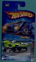 Mattel Hot Wheels 2005 1:64 Scale Green Final RunTreadator Die Cast Car #072