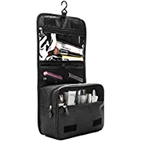 ZEON Travel Cosmetics Toiletries Packing Organiser Bag – Foldable Waterproof Makeup Hanging Storage Case