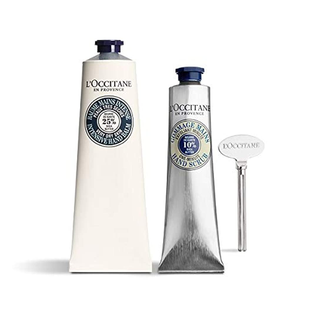 ヨーロッパオーバーラン凍結ロクシタン(L'OCCITANE) シア ザ?ハンドケアキット