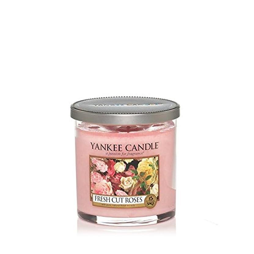 こねるフロー銃Yankee Candles Small Pillar Candle - Fresh Cut Roses (Pack of 2) - ヤンキーキャンドルの小さな柱キャンドル - 新鮮なバラ切り花 (x2) [並行輸入品]