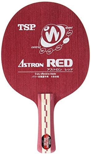ティエスピー(TSP) 卓球 ラケット アストロンレッドFL  22744