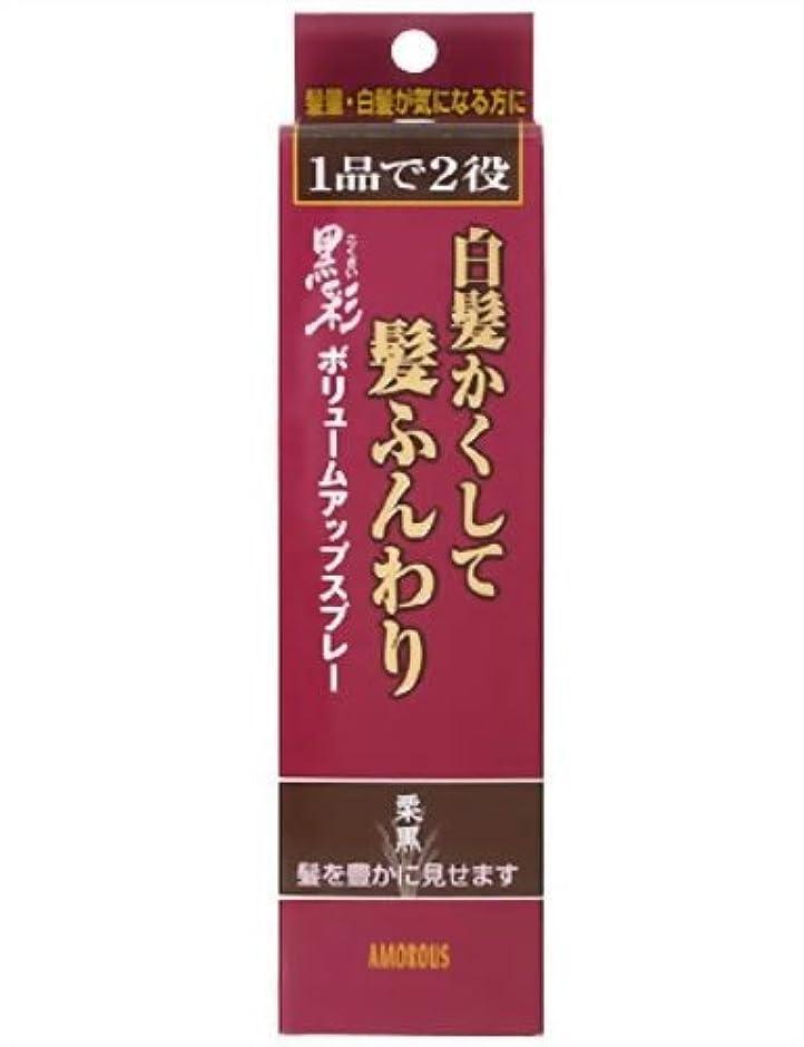許容できるアクセサリー薬を飲む黒彩 ボリュームアップスプレー 374 栗黒 142ML