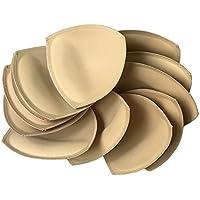 6 pairs Removeable bra pad insert ( beige) for sport bra and bikini tops