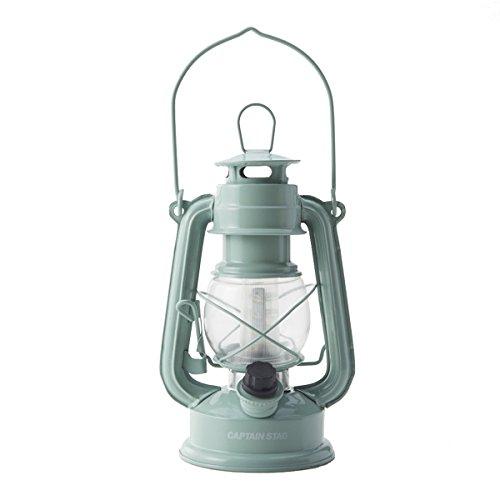 RoomClip商品情報 - キャプテンスタッグ グランピング LEDキャンプライト ランタン ランプ アンティーク 暖色 アップルグリーン M-1327
