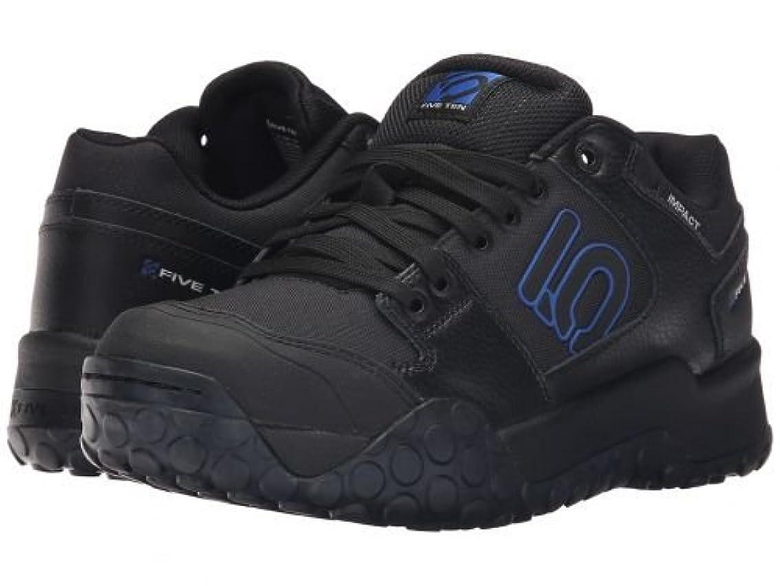 カブごめんなさい極貧[ファイブテン] メンズ 男性用 シューズ 靴 スニーカー 運動靴 Impact Low - Black/Power Blue [並行輸入品]