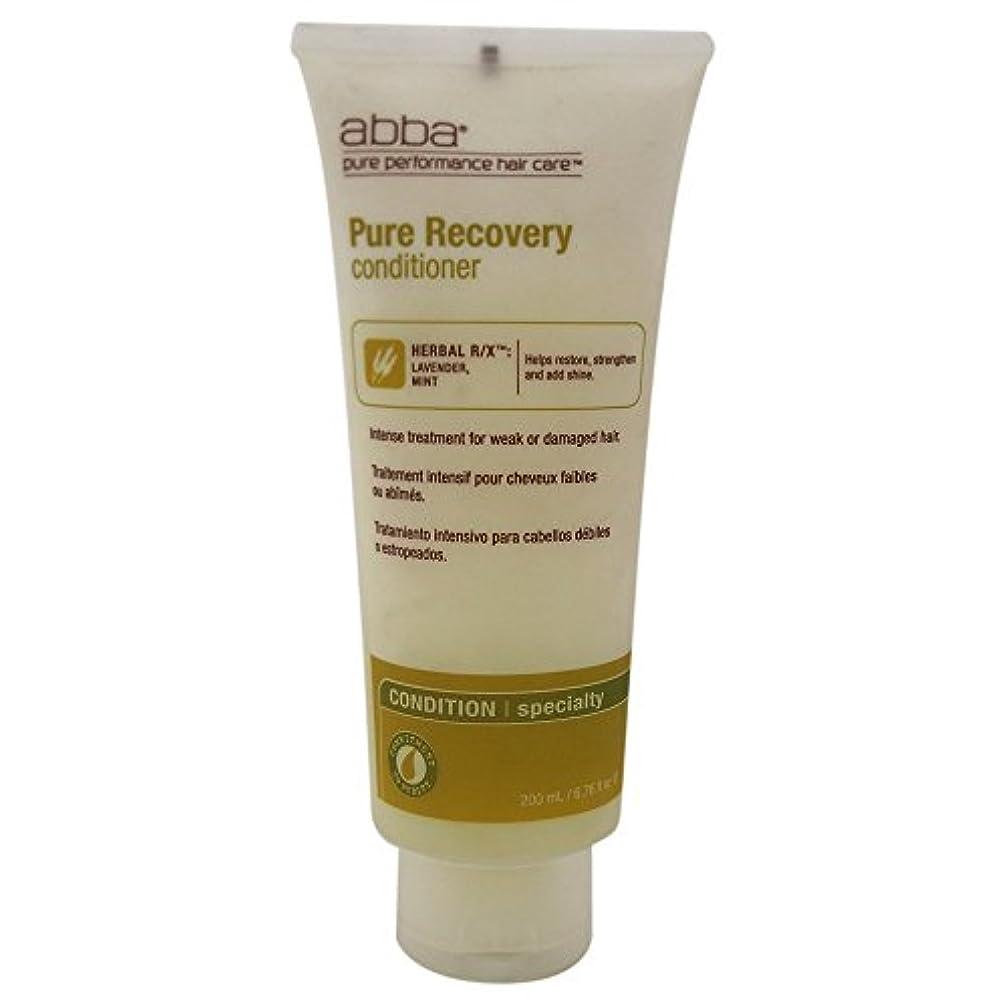 死ぬエキス上流のby Pure & Natural Hair Care RECOVERY TREATMENT CONDITIONER 8 OZ by ABBA