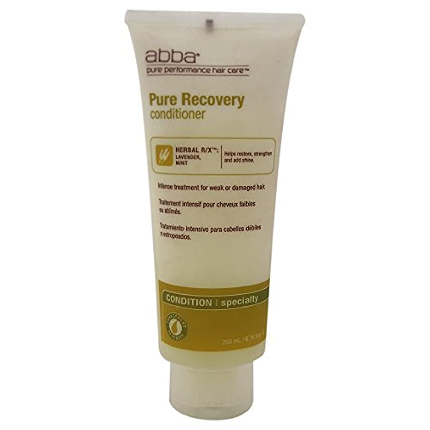 通行料金消費する掘るby Pure & Natural Hair Care RECOVERY TREATMENT CONDITIONER 8 OZ by ABBA