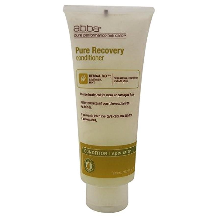 壊れたムスタチオ運営by Pure & Natural Hair Care RECOVERY TREATMENT CONDITIONER 8 OZ by ABBA