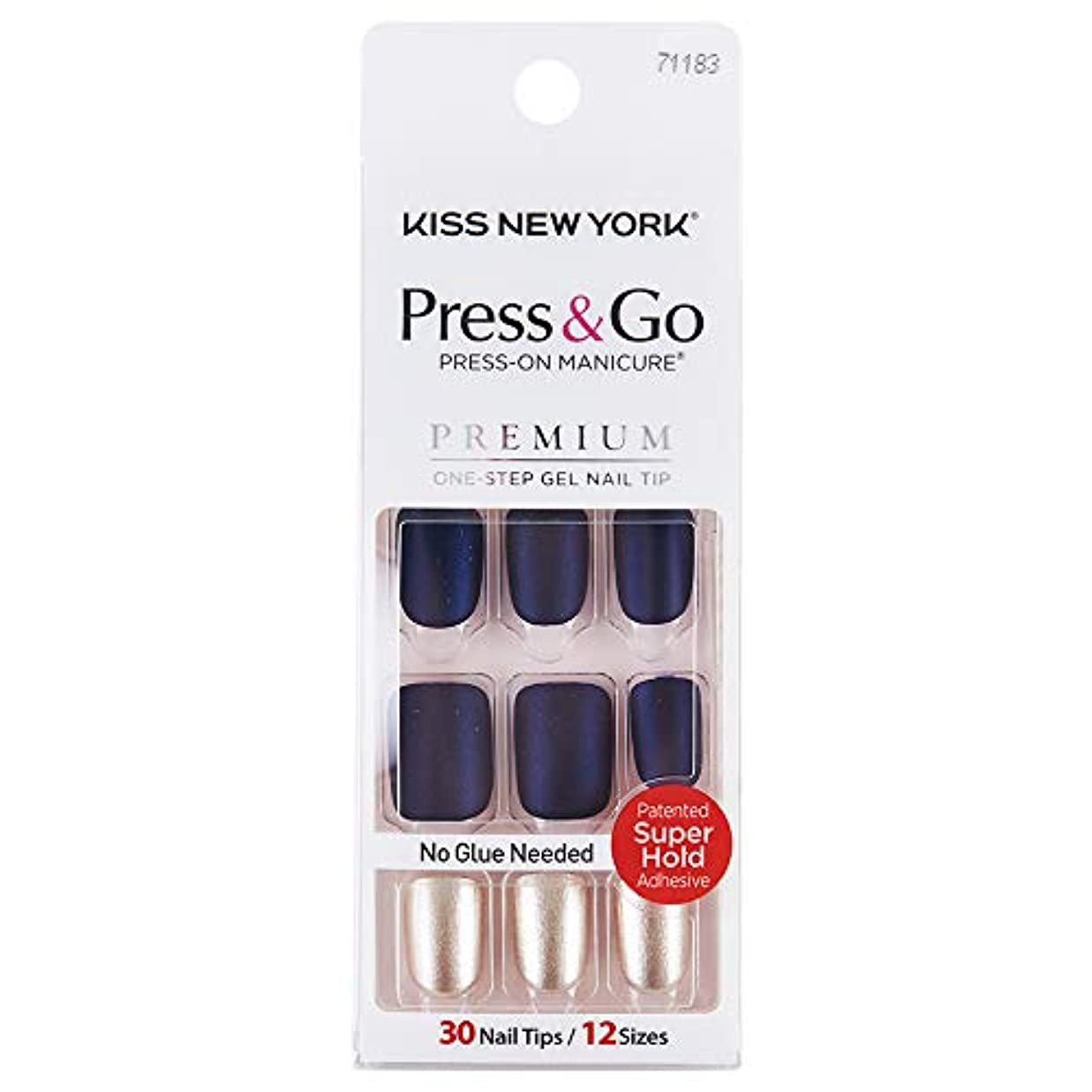 KISS NEWYORK ネイルチップPress&Go BIPA020J