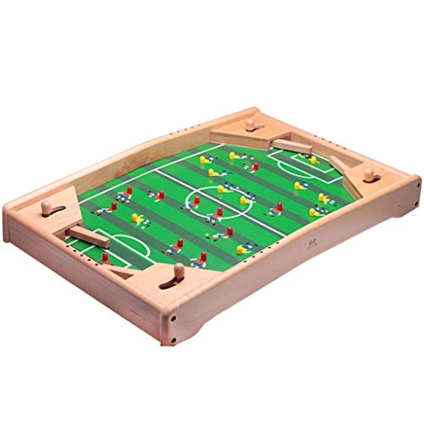 アボート合図のりテーブルサッカーフットボールの試合のおもちゃ家族親子のインタラクティブなおもちゃ子供の知恵ビリヤードおもちゃ二重競争のサッカーのおもちゃ子供の知的発達のおもちゃ (Color : GREEN, Size : 37.5*57*6CM)