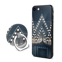 アラン ウォーカー Alan Walker IPhone8 ケース リング付き Iphone7 ケース ストラップホール付き 落下防止 耐衝撃 アイフォン 7/8 ケース透明 TPUシリコン 軽量 薄型 携帯カバー おしゃれ