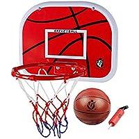 VORCOOL 壁掛けバスケットボールバックボードフープネットセット室内児童バスケットボールおもちゃ