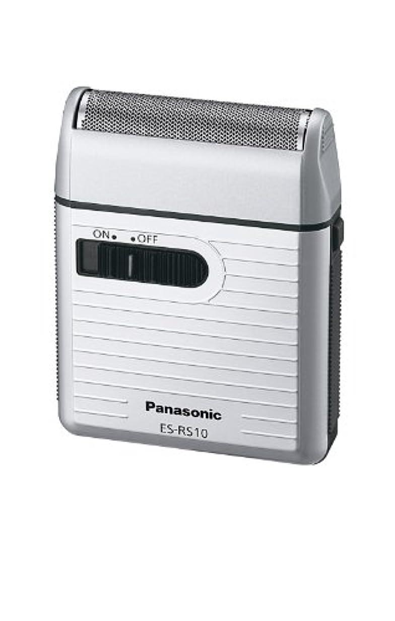 時刻表農学粘性のPanasonic メンズシェーバー 1枚刃 シルバー調 ES-RS10-S