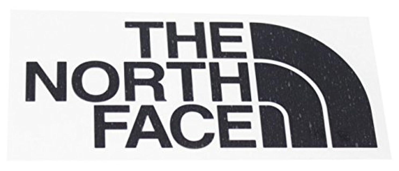 等勇敢なサンダーノースフェイス(THE NORTH FACE)TNF カッティングステッカー NN88106 K