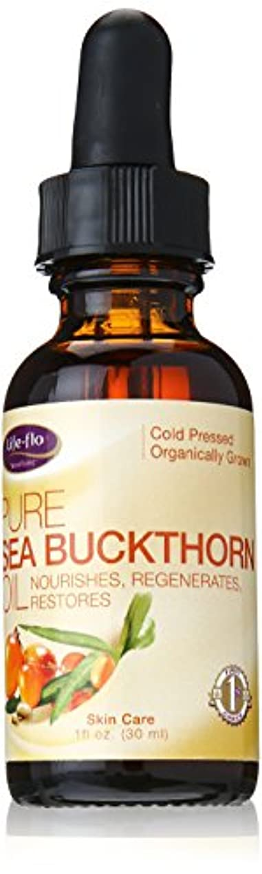 第温室塩海外直送品 Life-Flo Pure Sea Buckthorn Oil, 1 oz