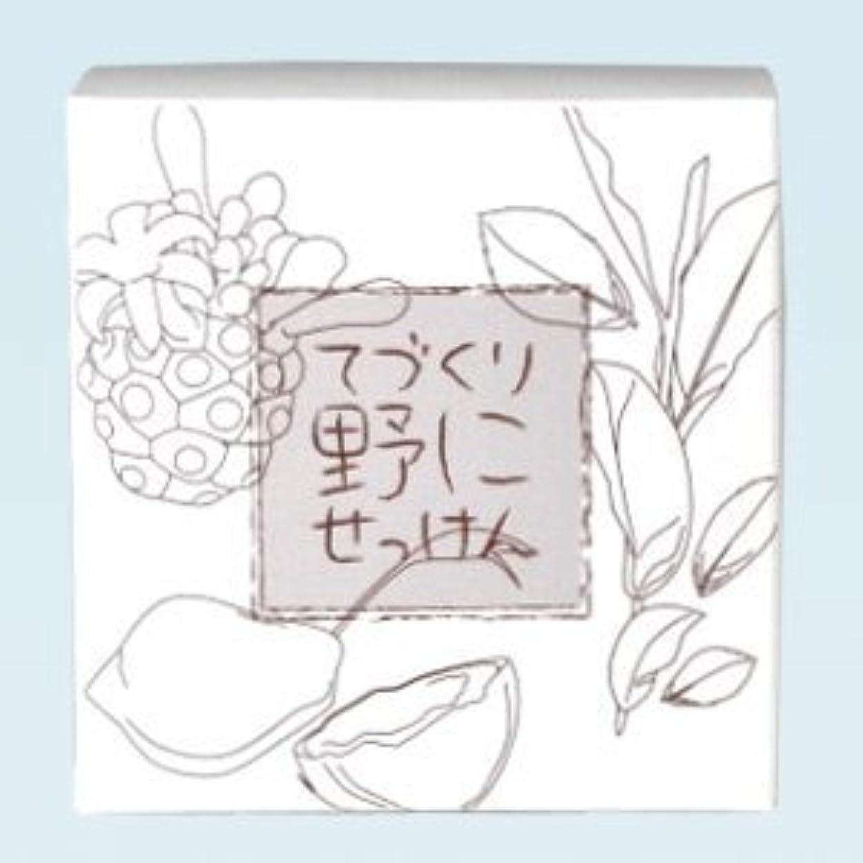 加速度墓地テレビ緑茶 ノニ石鹸 てづくり野にせっけん(115g)