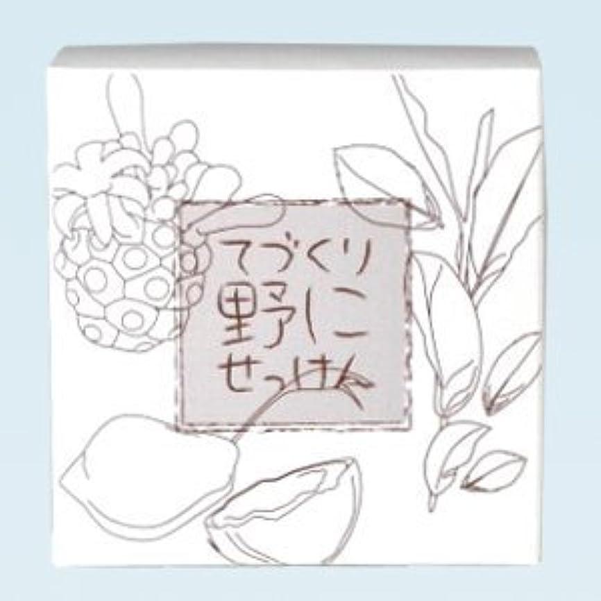 宝差し引く落花生緑茶 ノニ石鹸 てづくり野にせっけん(115g)