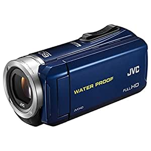 JVC KENWOOD JVC ビデオカメラ EVERIO 内蔵メモリー32GB ブルー GZ-R70-A