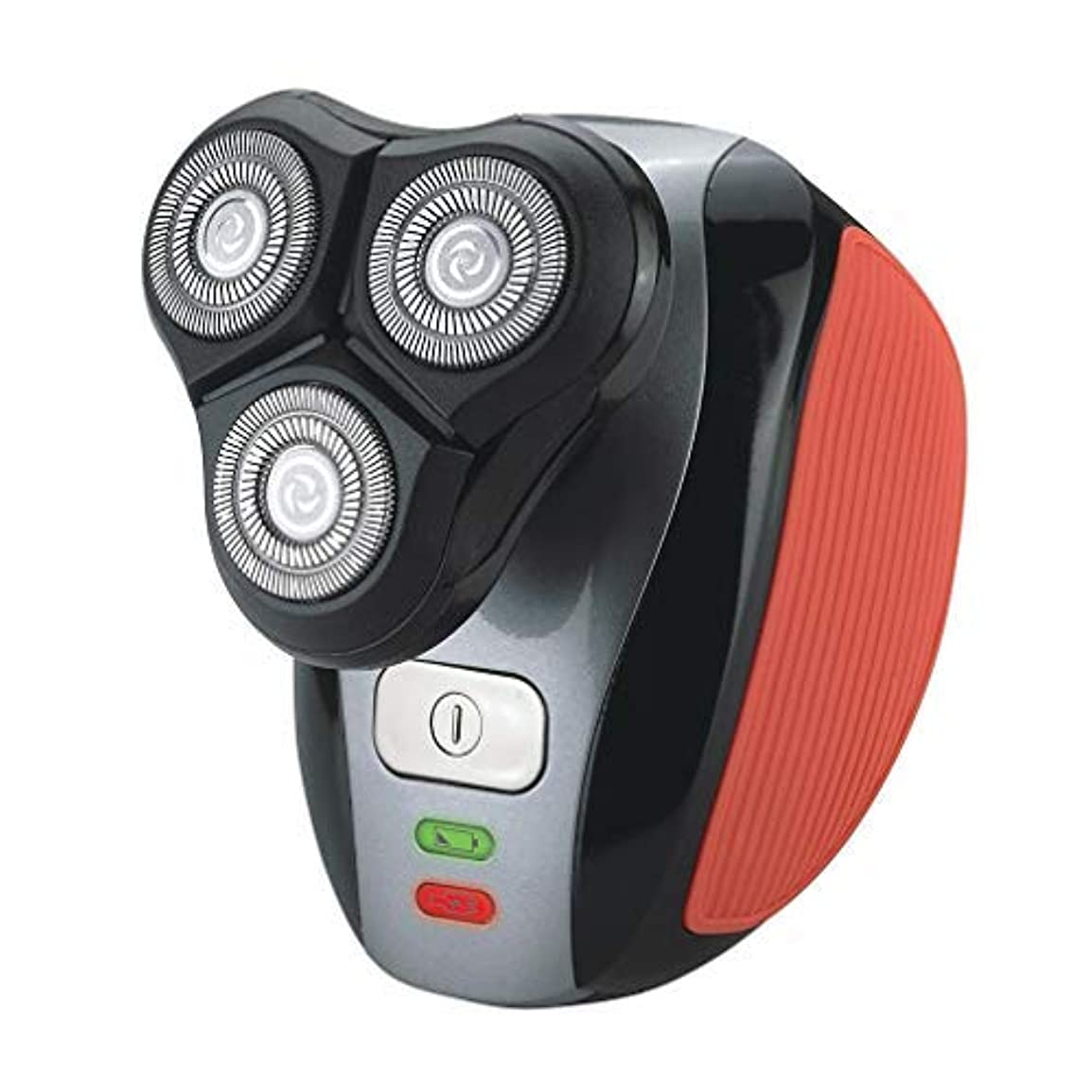 スライス開発時計回りスマートシェーバー用のUSB充電式で電気メンズシェーバーノーズビアード眉毛トリマーカミソリセルフトリマー