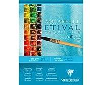スケッチブックに水彩画Etival(200g/M2 10枚入)A3,Clairefontaine、塗装-ウェット技術、画帖、美術品