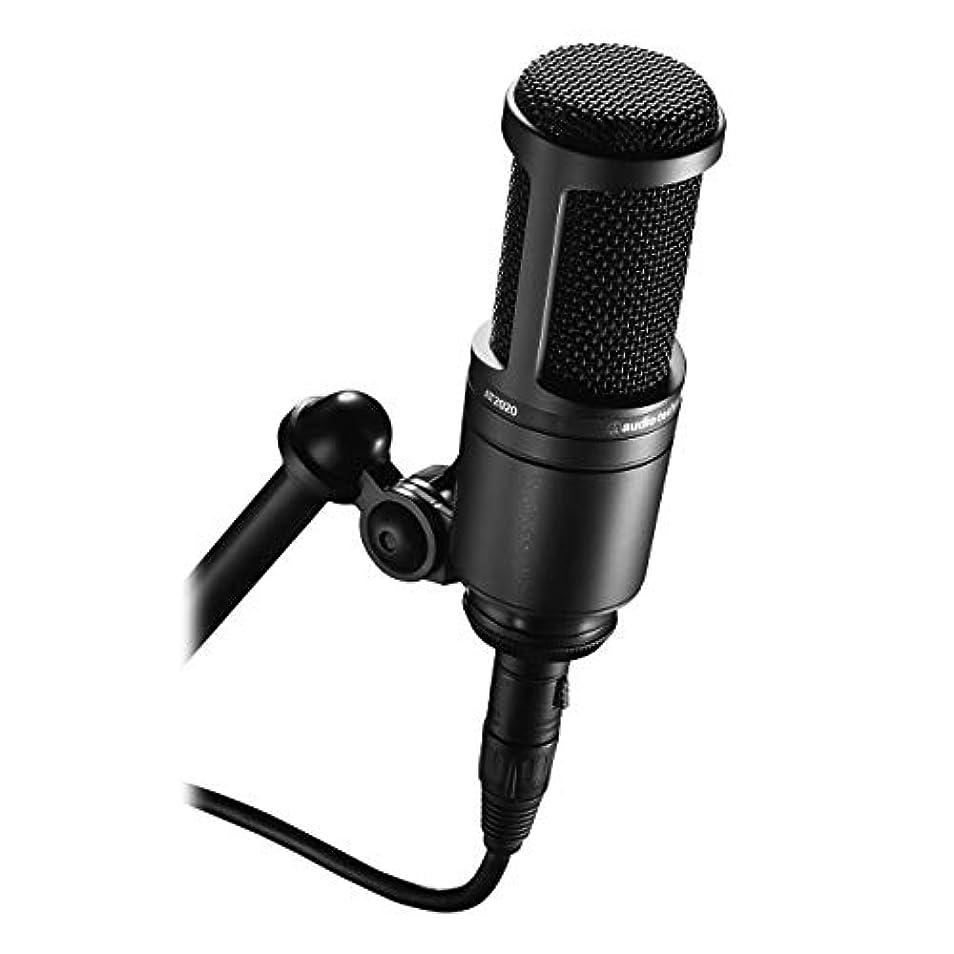 禁輸連邦予測Audio-Technica(オーディオテクニカ) AT2020 コンデンサースタジオマイク 海外正規-並行輸入品