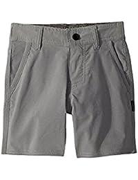 オニール ONeill Kids キッズ 男の子 ショーツ 半ズボン Grey Stockton Hybrid Shorts [並行輸入品]