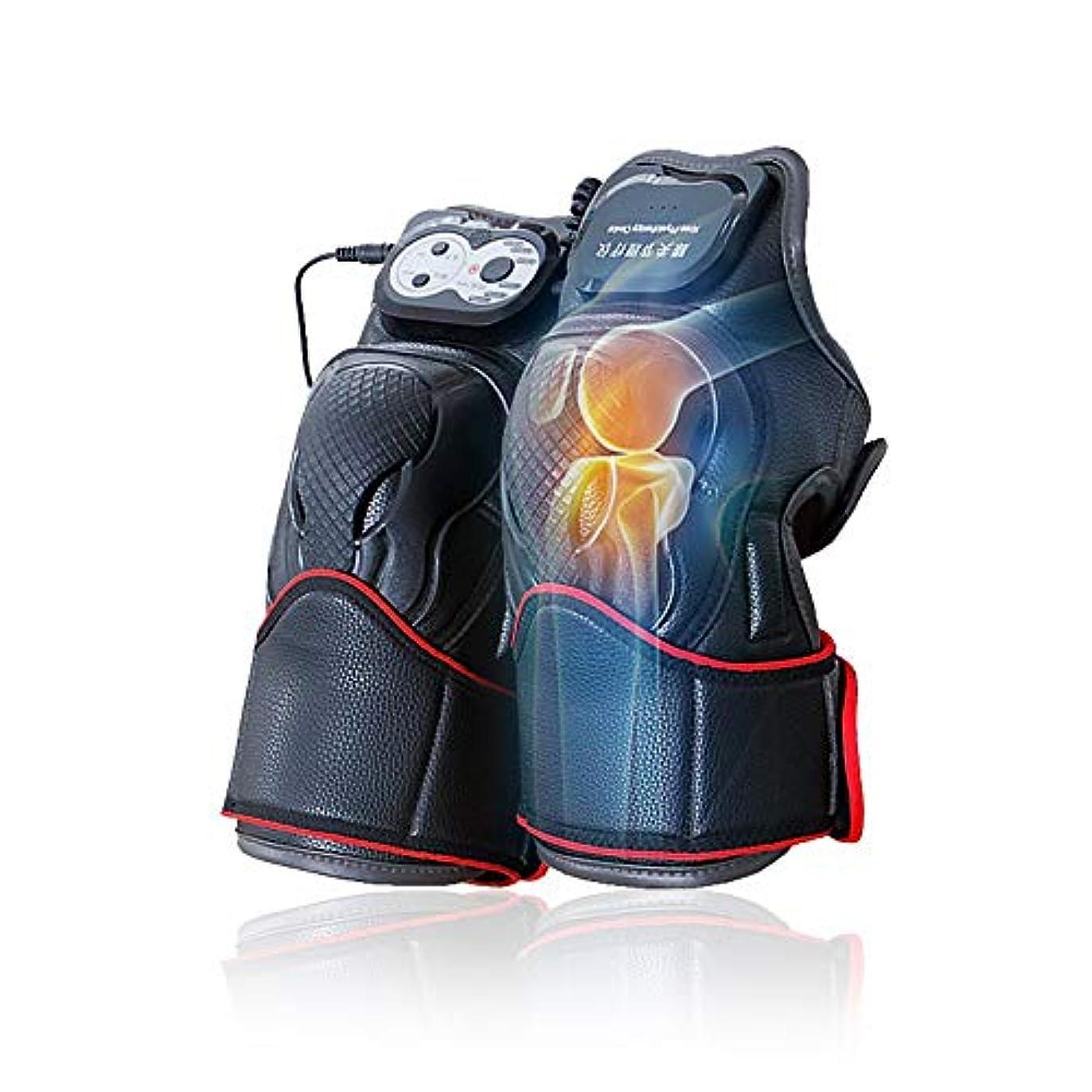 余分なミュウミュウ優越マッサージ器 マッサージ ひざ マッサージャー ヒーター マッサージ機 振動 レッグマッサージャー 通気性 フットマッサージャー 赤外線療法 膝サポーター ストレス解消(二枚入り)