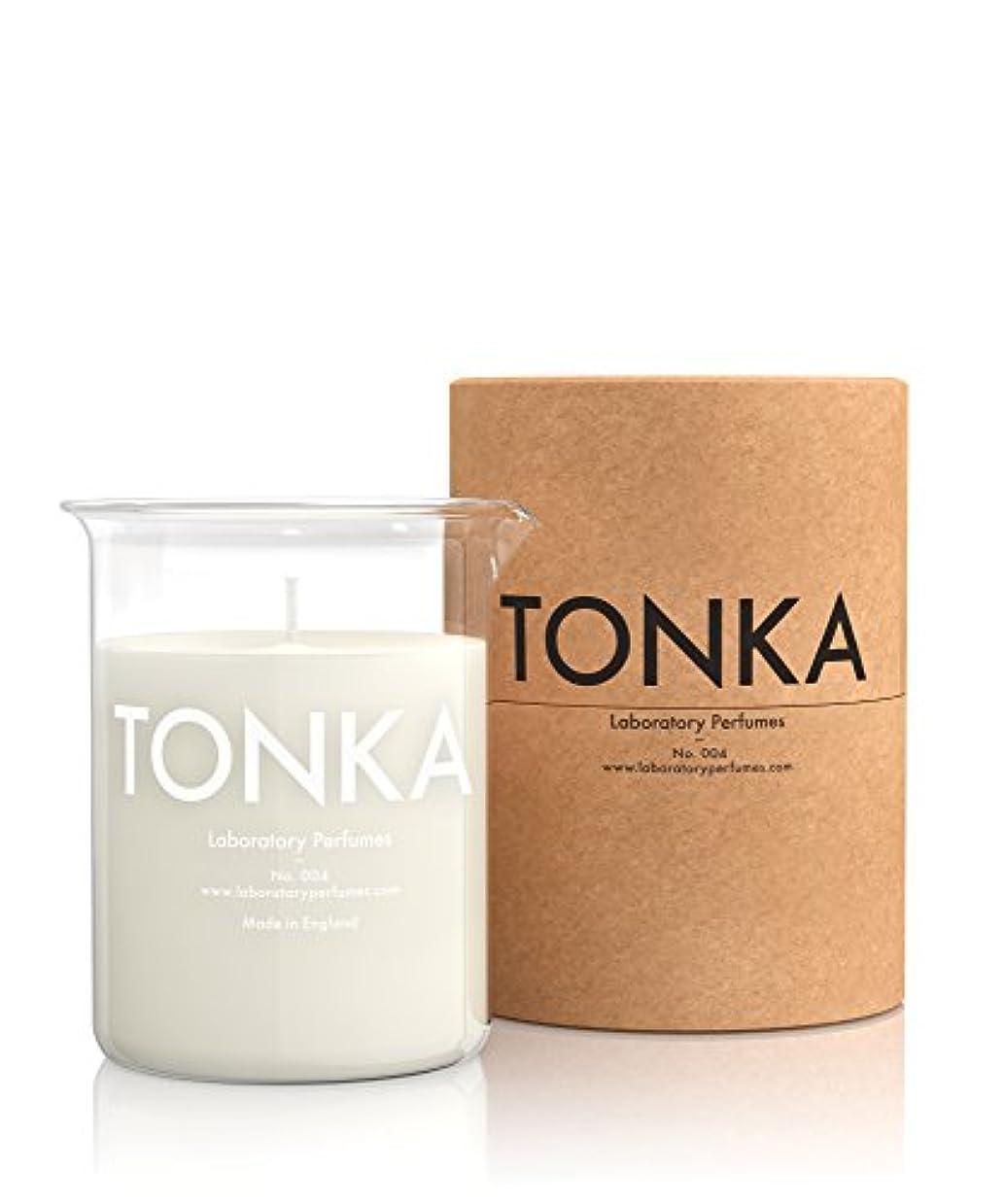 透ける飾り羽残り物Labortory Perfumes キャンドル トンカ Tonka (アロマティックオリエンタル Aromatic Oriental) Candle ラボラトリー パフューム