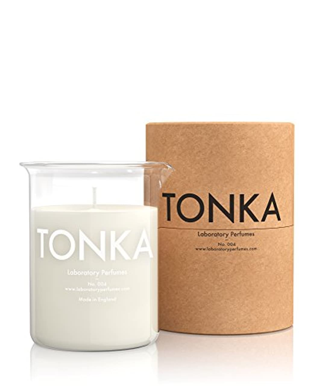 プレートジョージハンブリー書くLabortory Perfumes キャンドル トンカ Tonka (アロマティックオリエンタル Aromatic Oriental) Candle ラボラトリー パフューム