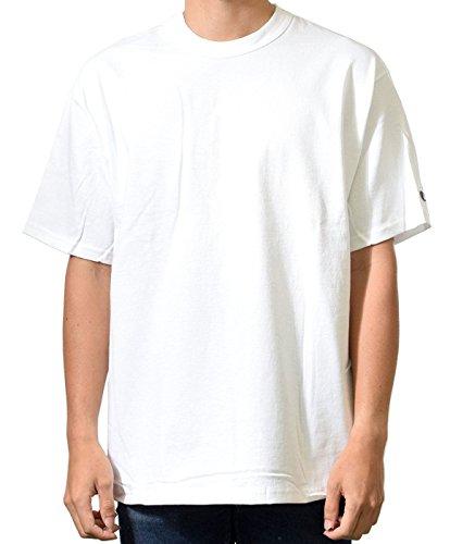Champion チャンピオン Tシャツ ヘリテージジャージーTシャツ 7oz 4size 5Colors #105 ( 2102 ) (L, ホワイト)