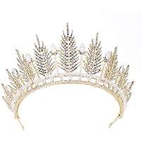 Tiara Atmospheric Luxury Crystal Crown Headdress Bride Princess Jewelry Wedding Wedding Headdress