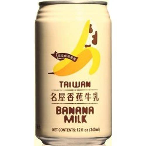 台湾 名屋 バナナミルク 340mlx24本