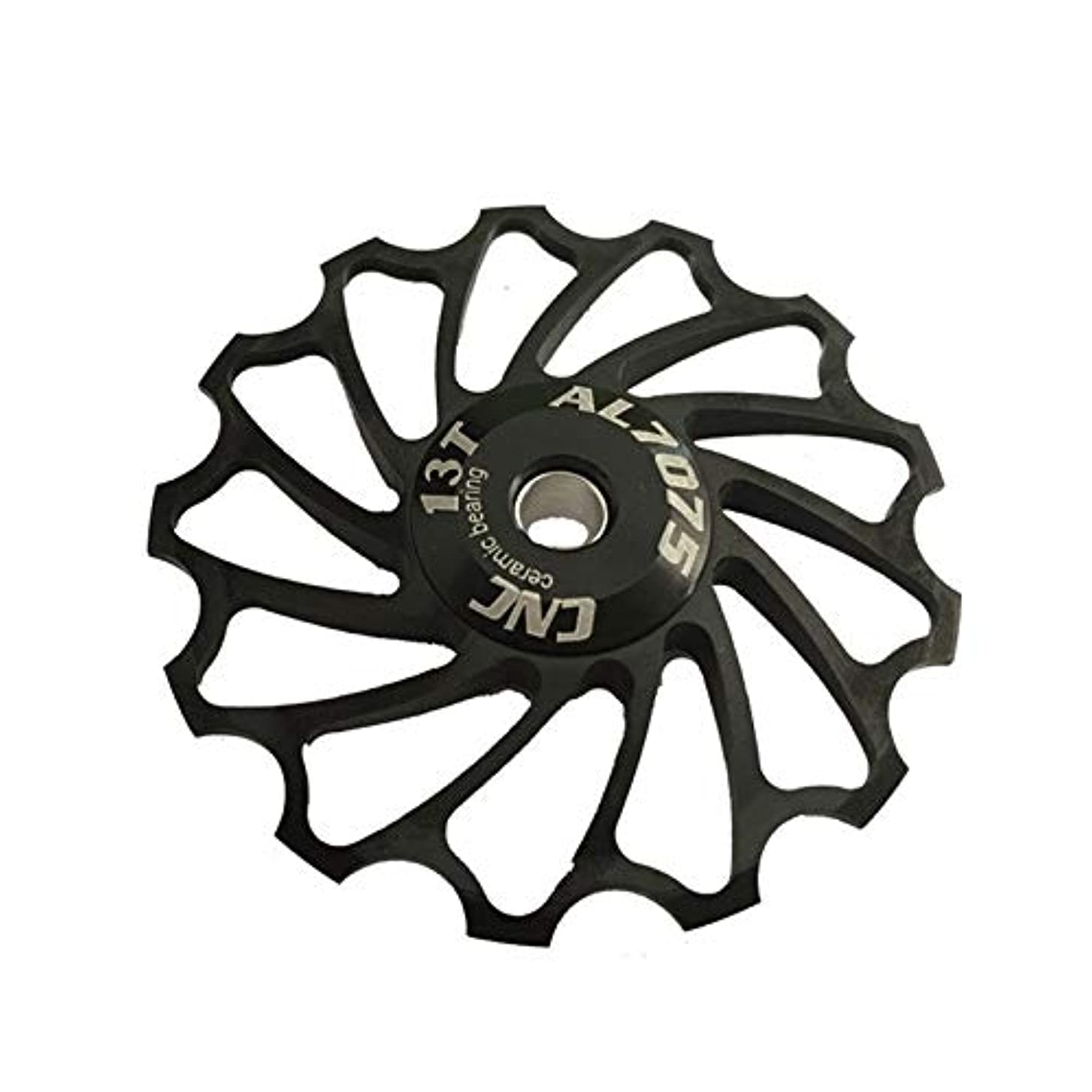 ポーク司書干ばつPropenary - Cycling bike ceramics Jockey Wheel Rear Derailleur Pulley 13T 7075 Aluminum alloy bicycle guide pulley...