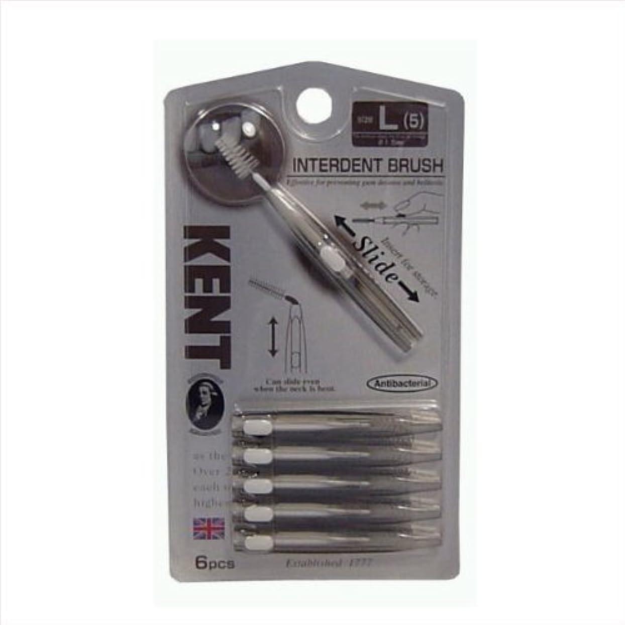 後方に力強い不満池本 KNT7410 KENT 歯間ブラシL