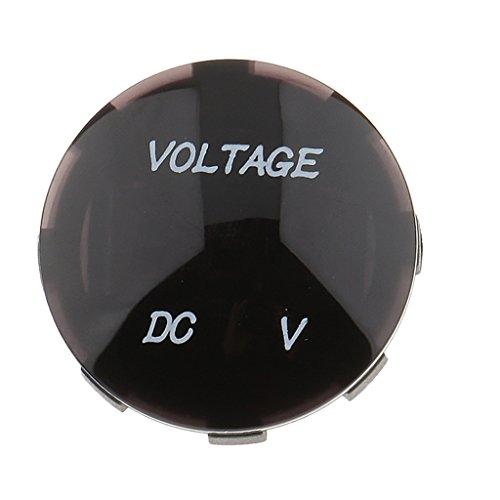 Dovewill  ATV オートバイ LED デジタル電圧計 パネル 電圧メータ 6V〜30V