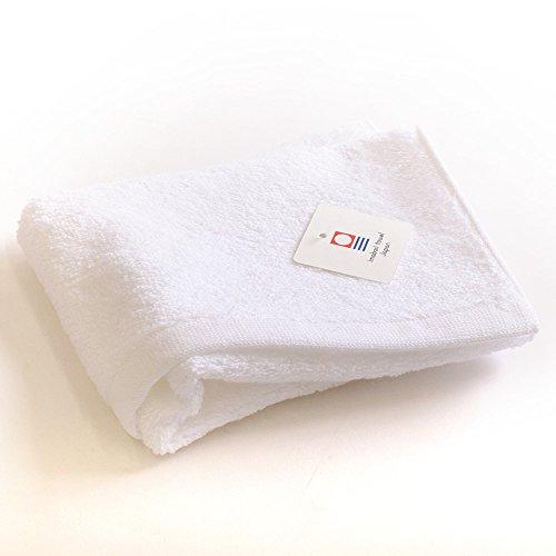 今治タオル ウォッシュタオル カラーマイヤー ホワイト 約35×40cm 日本製