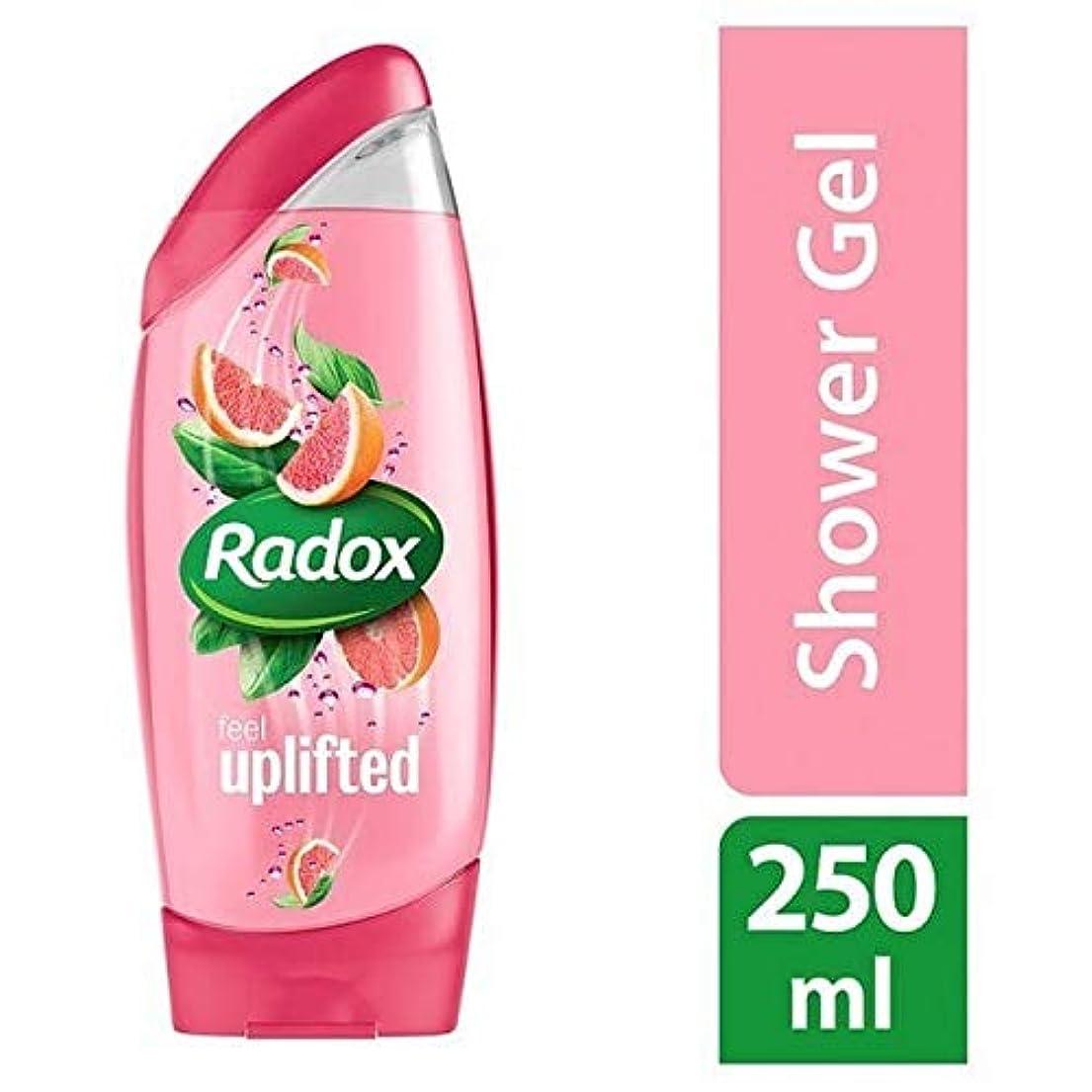 唯一説明的サイバースペース[Radox] Radox感隆起シャワージェル250ミリリットル - Radox Feel Uplifted Shower Gel 250ml [並行輸入品]
