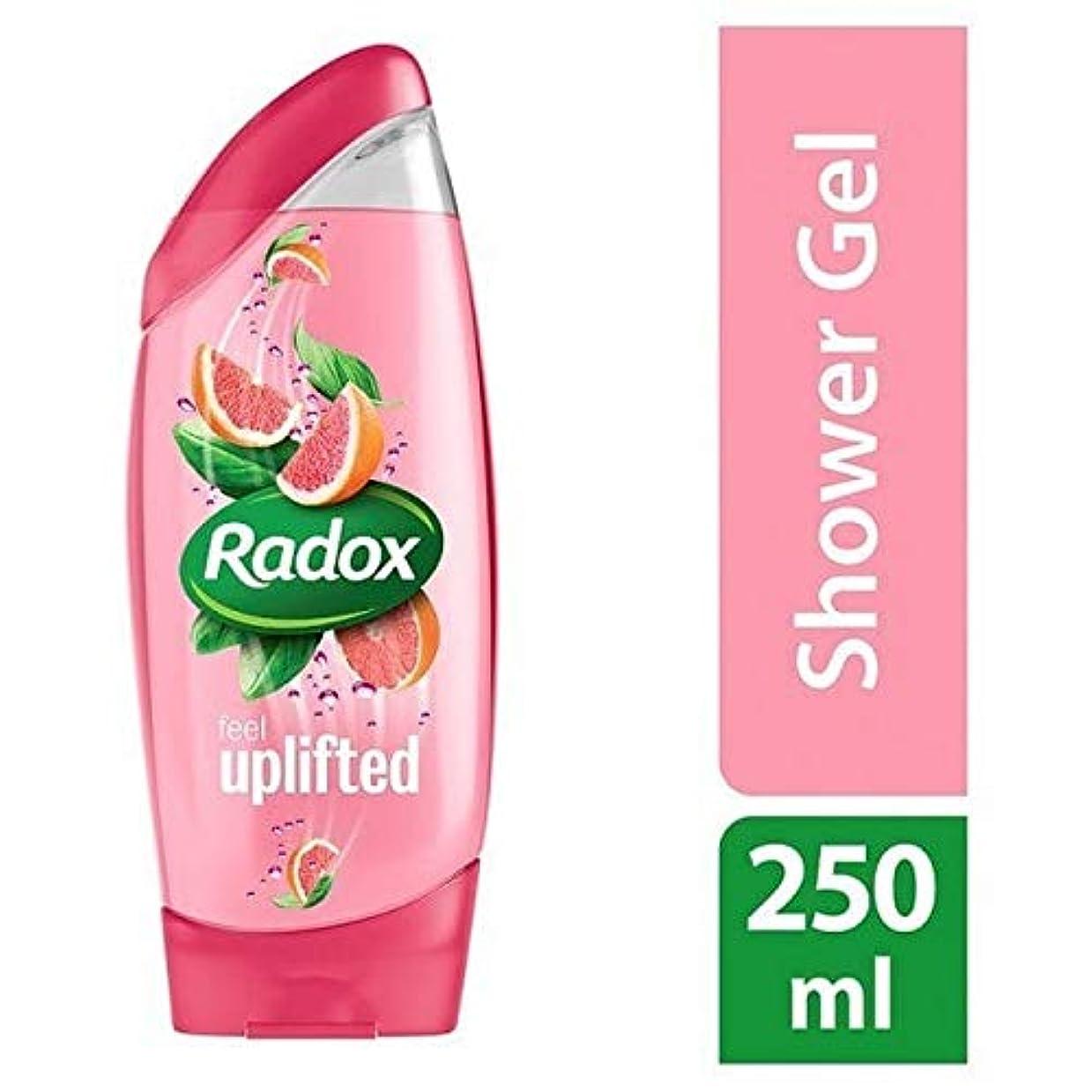 合理化コーナー第三[Radox] Radox感隆起シャワージェル250ミリリットル - Radox Feel Uplifted Shower Gel 250ml [並行輸入品]