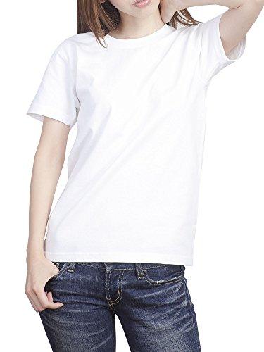 ティーシャツドットエスティー Tシャツ 半袖 無地 厚手 スーパーヘビーウェイト 7.1oz メンズ ホワイト M
