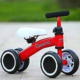 SSLCベビーバランスバイク子供ウォーカー玩具自転車に乗る1歳男の子女の子10-24ヶ月赤ちゃんの最初の自転車誕生日プレゼント