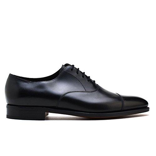 ジョンロブ JOHN LOBB CITY2 シティ2 ブラック キャップトゥ オックスフォード ビジネスシューズ ドレスシューズ イギリス製 靴 メンズ UKサイズ (UK7.0, BLACK) [並行輸入品]