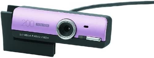 【1900年モデル】ELECOM PCカメラ/200万画素/ドライバレス/HS付/ノートPC向け/ピンク UCAM-DLG200HPN