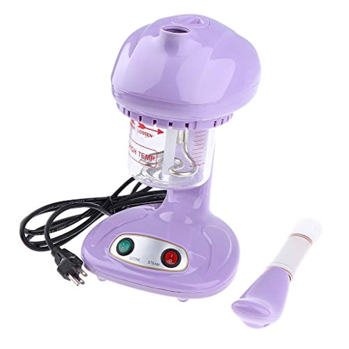 上提供された尊敬するP Prettyia 補水美顔器 スキンスプレーャー スパ SPA サロン 毛穴ケア 2色選べ - 紫